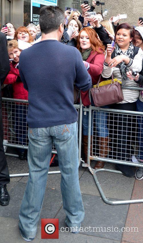 Simon Cowell arrives for the 'Britain's Got Talent'...