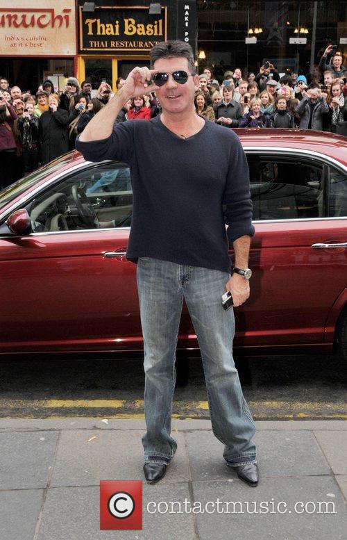Simon Cowell arrives for 'Britain's Got Talent' Edinburgh...