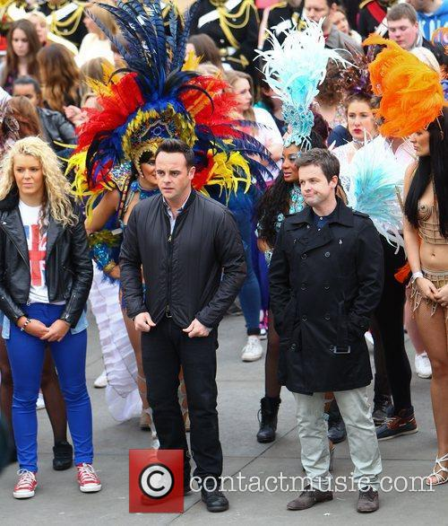 Ant Mcpartlin, Ant And Dec, Declan Donnelly and Trafalgar Square 2