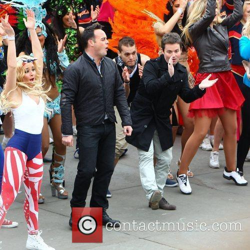 Ant Mcpartlin, Ant And Dec, Declan Donnelly and Trafalgar Square 3
