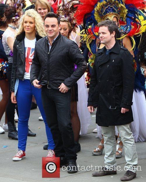 Ant Mcpartlin, Ant And Dec, Declan Donnelly and Trafalgar Square 4