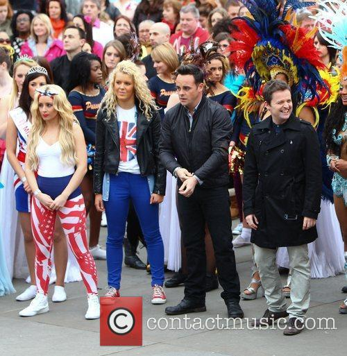 Ant Mcpartlin, Ant And Dec, Declan Donnelly and Trafalgar Square 7