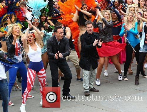 Ant Mcpartlin, Ant and Dec, Declan Donnelly and Trafalgar Square 13
