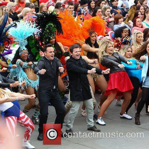 Ant Mcpartlin, Ant and Dec, Declan Donnelly and Trafalgar Square 14