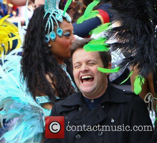 'Britain's Got Talent' Flash Mob in Trafalgar Square
