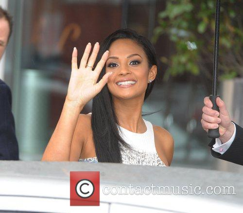 The judges of Britain's Got Talent leaving their...