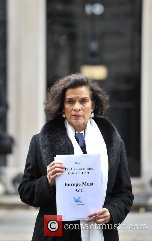 Bianca Jagger and 10 Downing Street 3