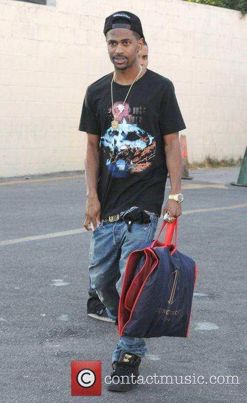 Rapper Big Sean is seen out and about...