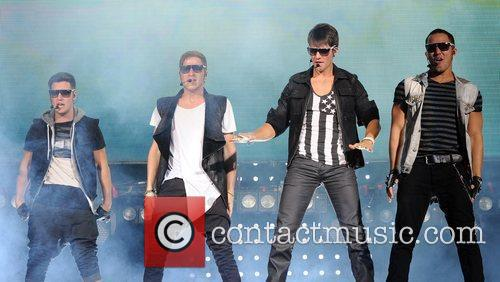 Logan Henderson, Big Time Rush, Carlos Pena and James Maslow 2