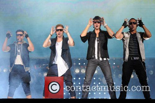 Logan Henderson, Big Time Rush, Carlos Pena and James Maslow 3