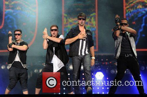 Logan Henderson, Big Time Rush, Carlos Pena and James Maslow 1