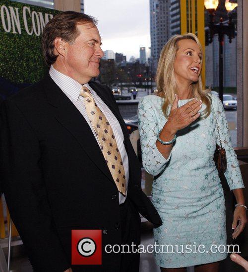 Bill Belichick and his Girlfriend Linda Holliday...
