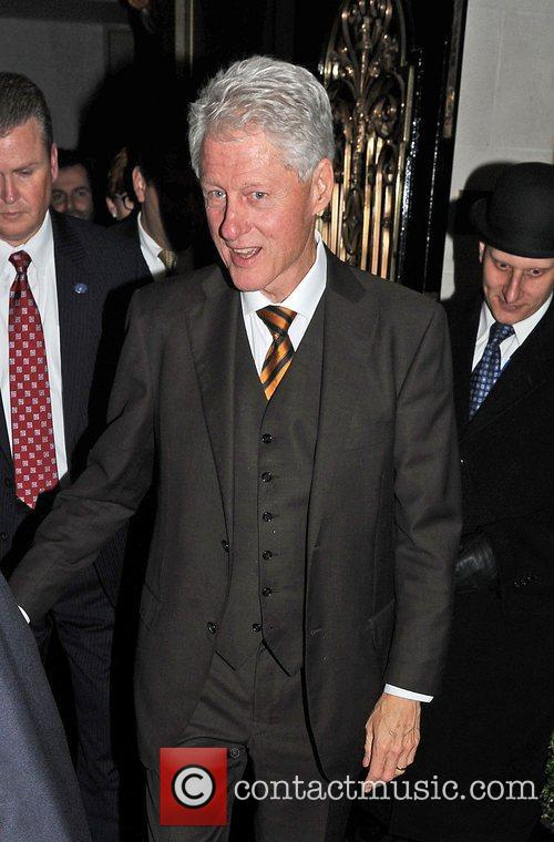 Bill Clinton, Scott and Kevin Spacey 8