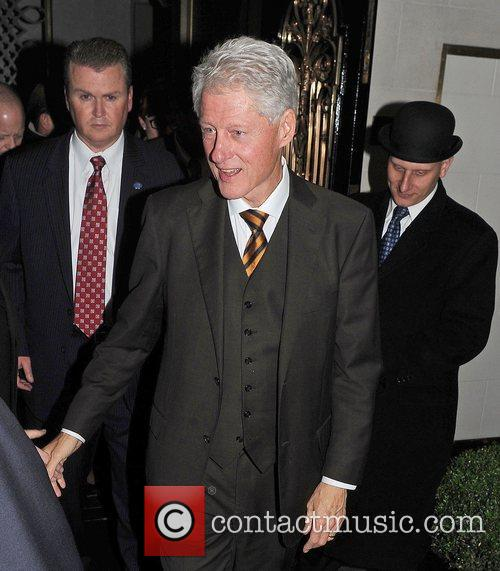 Bill Clinton, Scott and Kevin Spacey 4
