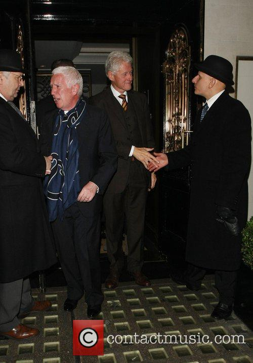 Bill Clinton, Scott and Kevin Spacey 12