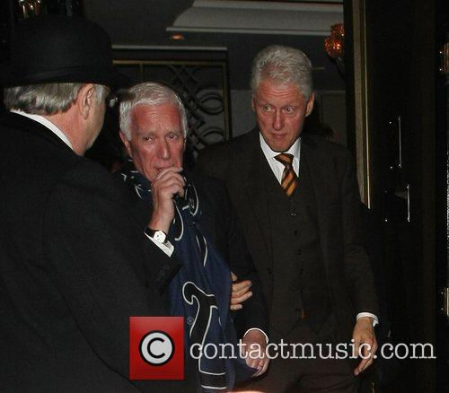 Bill Clinton, Scott and Kevin Spacey 10