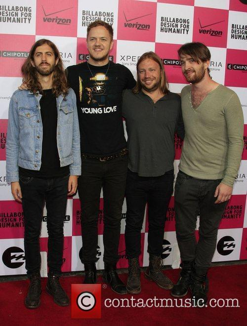 Imagine Dragons Billabong's 6th Annual Design For Humanity...