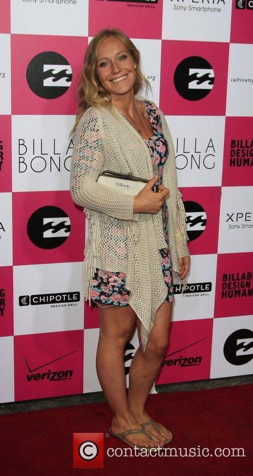 Jamie Anderson Billabong's 6th Annual Design For Humanity...