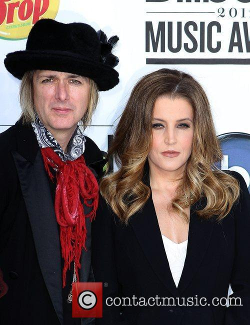 Michael Lockwood and Lisa Marie Presley 1