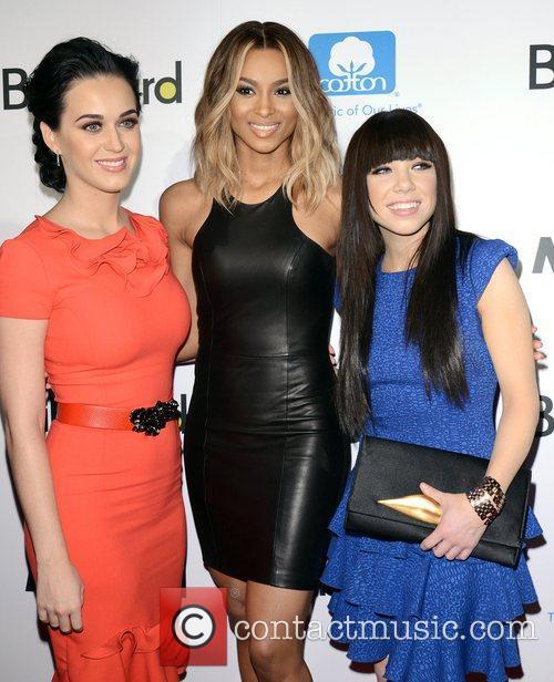 Katy Perry, Ciara, Ciara Princess Harris and Carly Rae Jepsen 1
