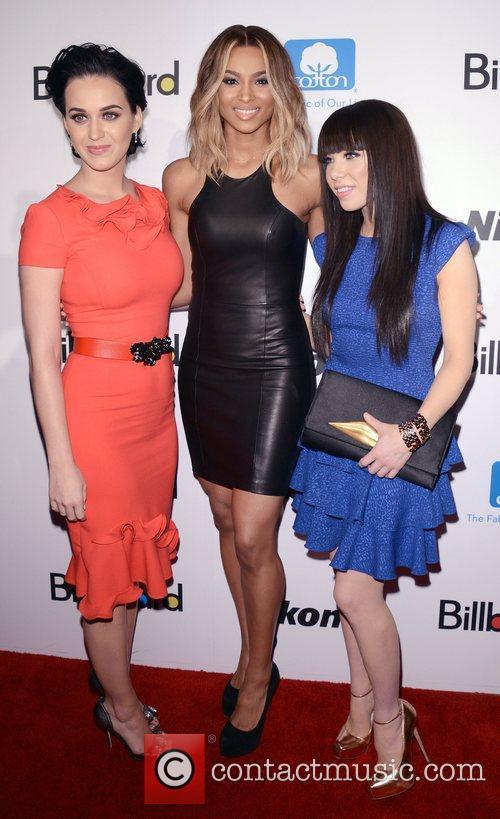 Katy Perry, Ciara, Ciara Princess Harris and Carly Rae Jepsen 5