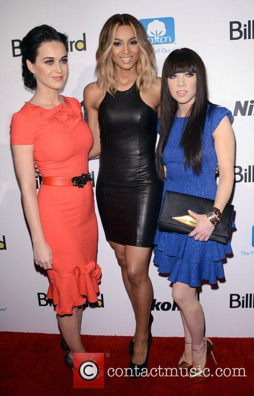 Katy Perry, Ciara, Ciara Princess Harris and Carly Rae Jepsen 4