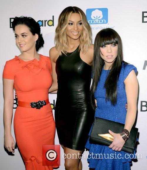 Katy Perry, Ciara, Ciara Princess Harris and Carly Rae Jepsen 9