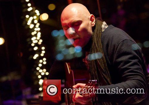Billy Corgan of the Smashing Pumpkins performs live