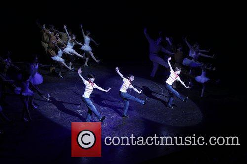 The final performance of Billy Ellioton Broadway at...
