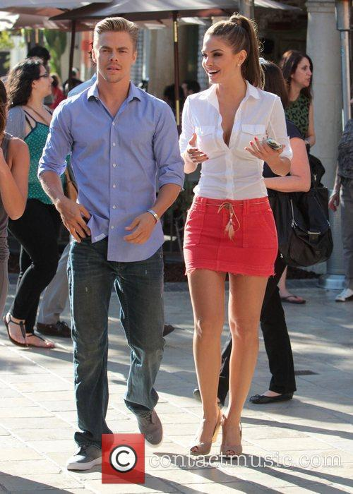 Maria Menounos and Derek Hough 1