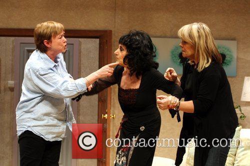 Pauline Quirke, Linda Robson and Lesley Joseph Birds...