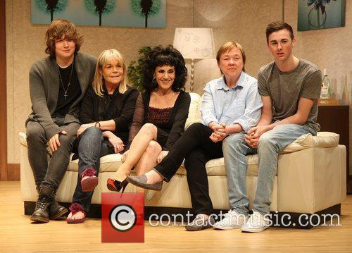 Pauline Quirke, Linda Robson and Lesley Joseph and...