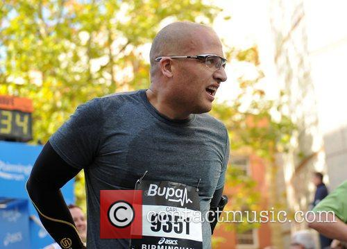 Atmosphere Birmingham BUPA Half Marathon 2012 - Race...
