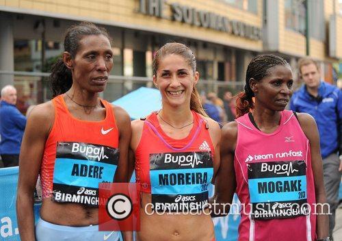 Berhane Adere, Sara Moreira and Irene Mogaka Birmingham...