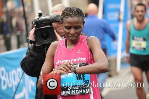 Irene Mogaka Birmingham BUPA Half Marathon 2012 -...