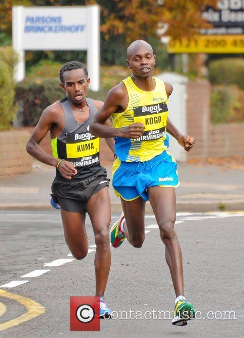 Birmingham BUPA Half Marathon 2012 - Race