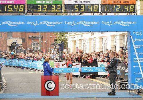 Sara Moreira Birmingham BUPA Half Marathon 2012 -...