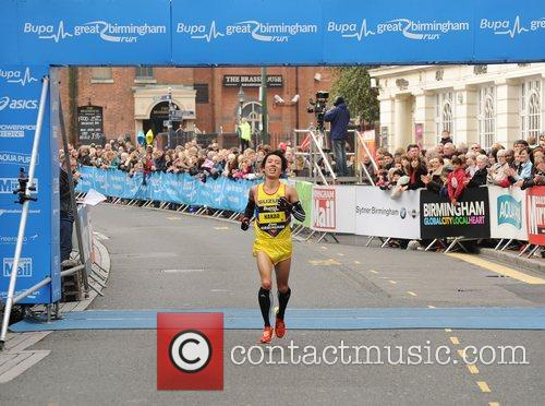 Yusei Nakao Birmingham BUPA Half Marathon 2012 -...