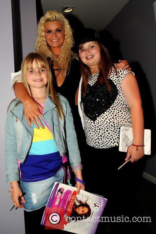 Kerry Katona and her daughters Molly Marie McFadden...