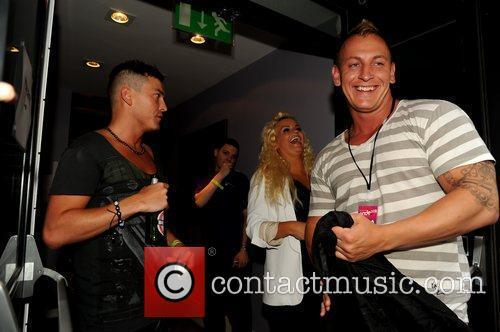 Kerry Katona (c) laughing Birmingham Gay Pride 2012...