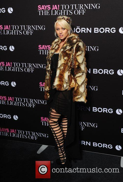 Kimberly Wyatt and London Fashion Week 4
