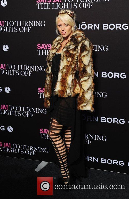 Kimberly Wyatt and London Fashion Week 5