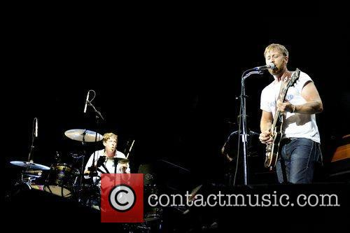 The Black Keys performs at Molson Canadian Amphitheatre.
