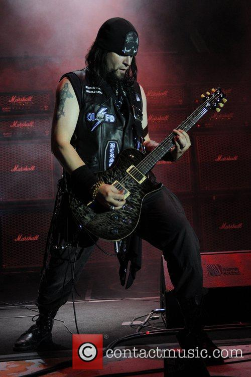 Black Label Society performs live at the Bayfront...