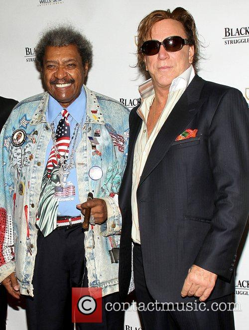 Don King and Mickey Rourke 2