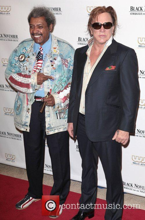 Don King and Mickey Rourke 9