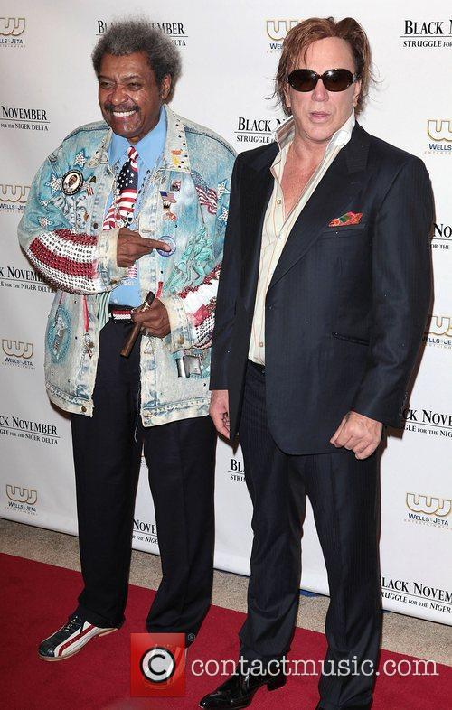 Don King and Mickey Rourke 6