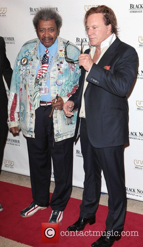 Don King and Mickey Rourke 8