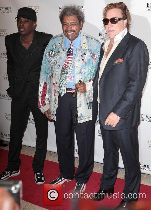 Jeta Amata, Don King and Mickey Rourke 3