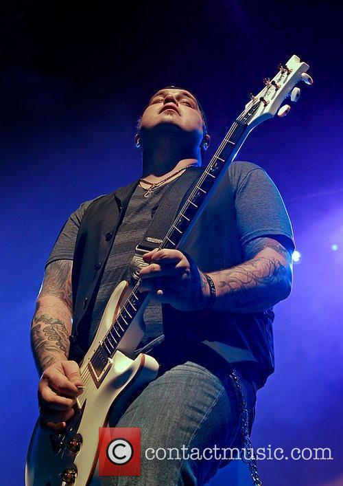 Chris Robertson of Black Stone Cherry performing live...